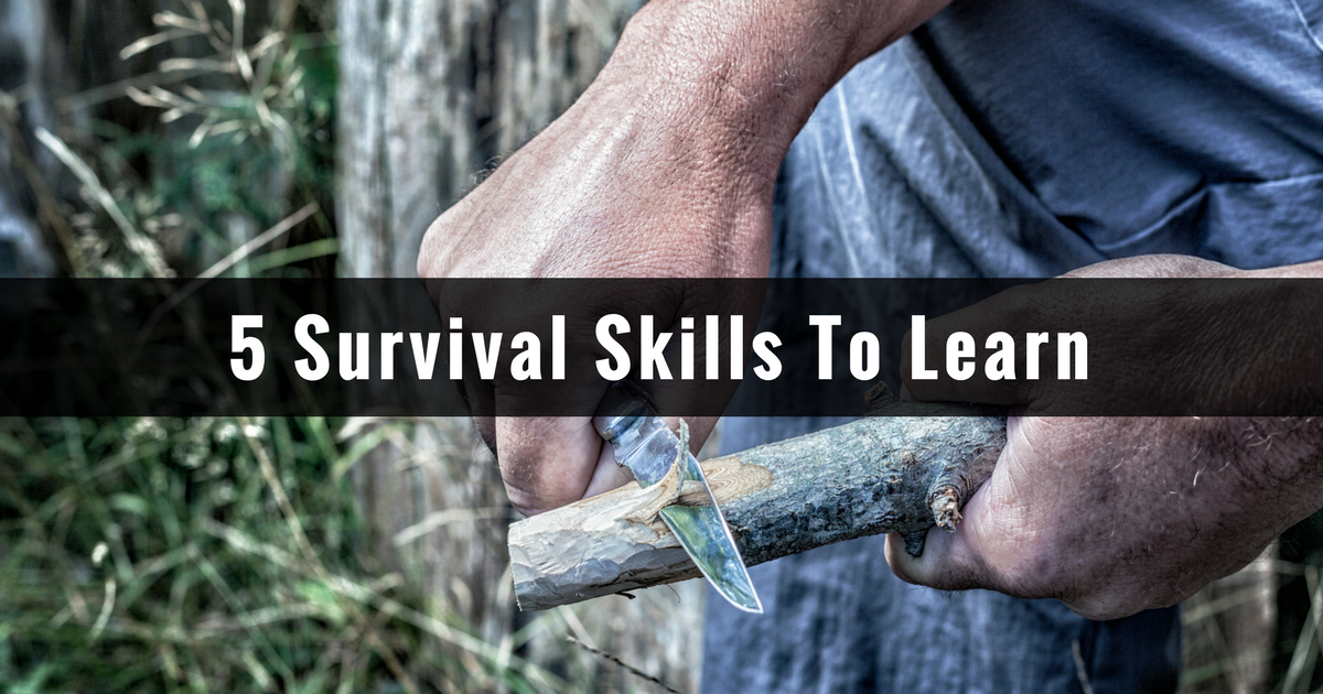 Top 10 Survival Skills You Need to Know - YouTube