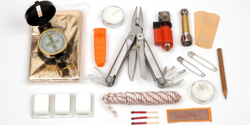 Selection of items to add to your survival everyday carry kit.